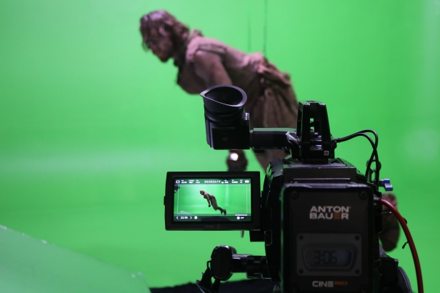 Green screen stunts and special effects