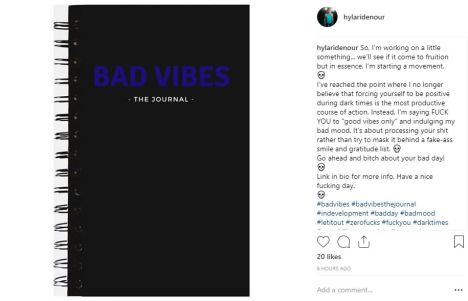 Bad Vibes, The Journal